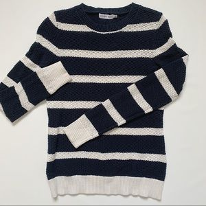 Alfred Sung striped knit sweater